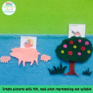 syllables with felt
