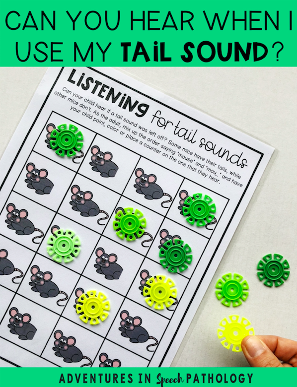 Listening for tail sounds