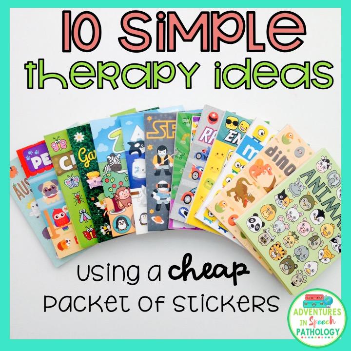 simple sticker ideas