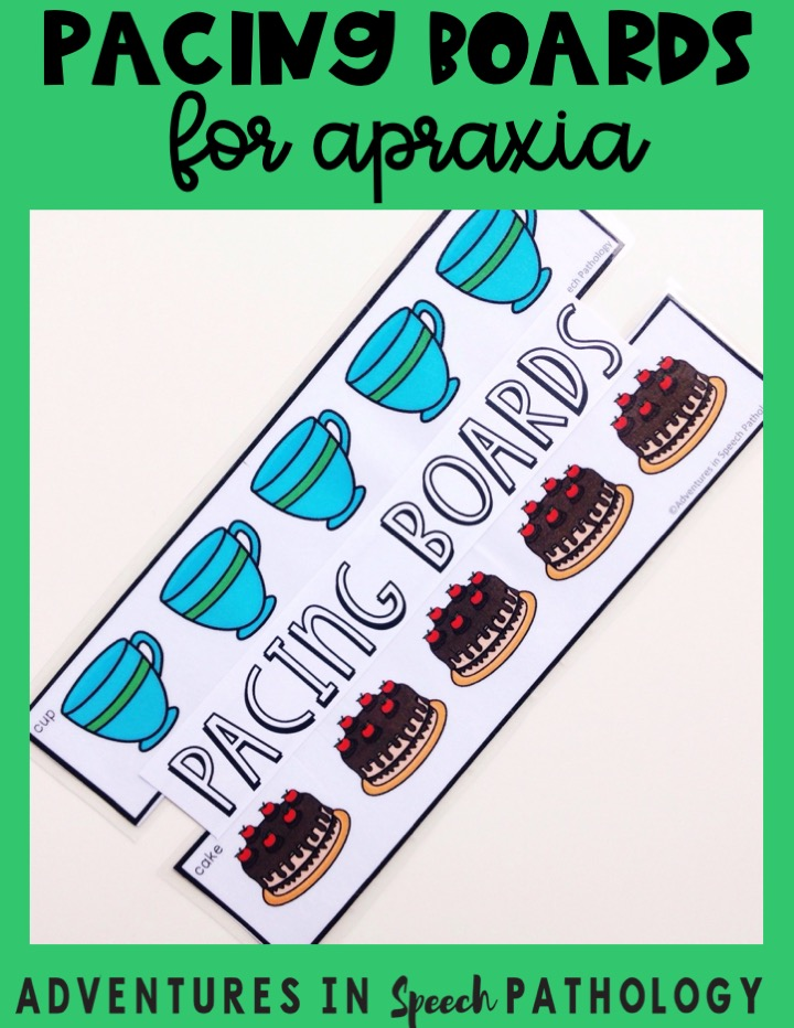 Pacing Boards for Apraxia