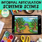 Articulation Screener Scenes