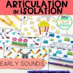 Articulation in Isolation