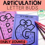 Articulation Letter Buds