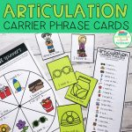 Articulation Carrier Phrase Cards