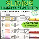 Gliding Phonology Fun Sheets
