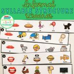 Syllable Structure Screener