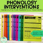 Phonology intervention handouts