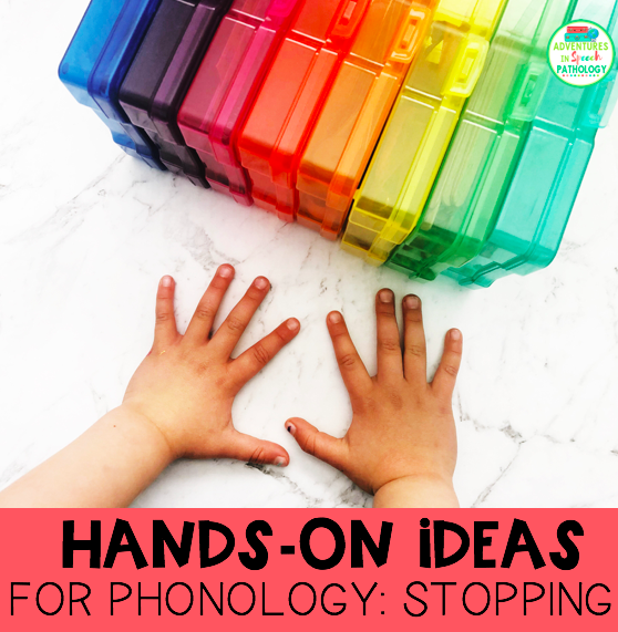 Hands-on ideas for phonology stopping