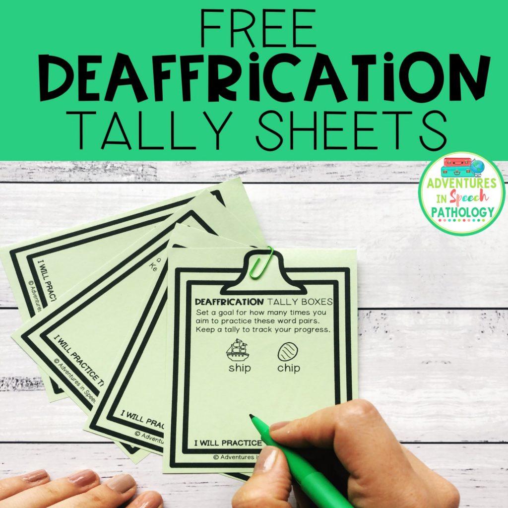 deaffrication freebie