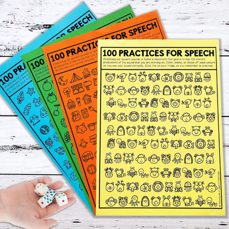 100 Practices for Speech