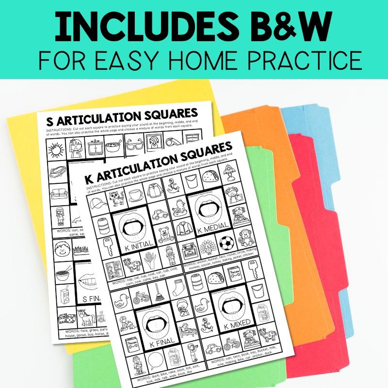 Articulation Squares Bundle3